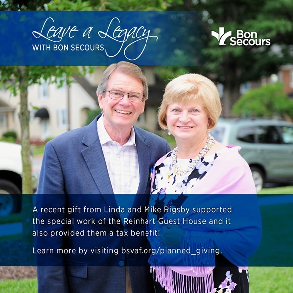 Leave a Legacy with Bon Secours
